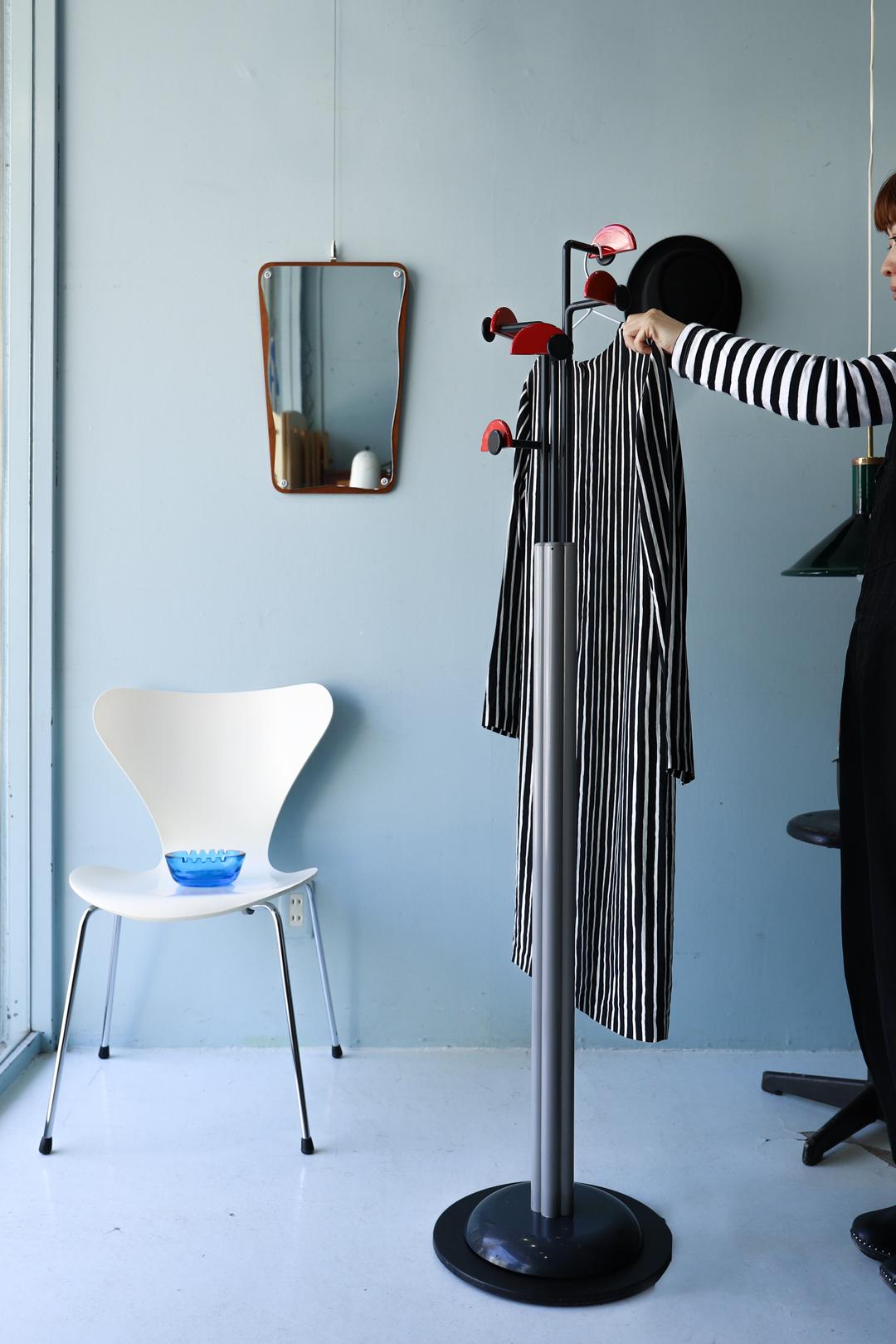 Italy Vintage Coat Hanger Rack Postmodern Design/イタリア ヴィンテージ コートハンガー ラック ポストモダン ミッドセンチュリー インテリア