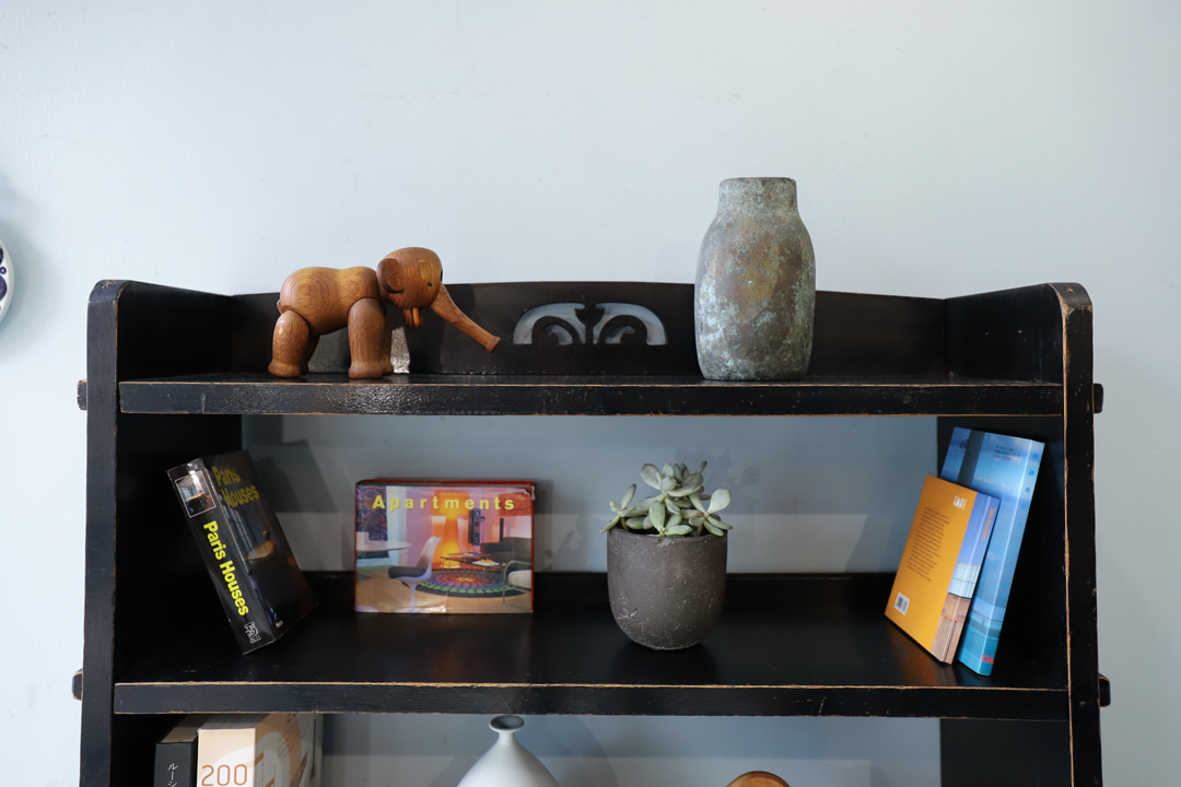 Japan Vintage Book Shelf Retro/ジャパンヴィンテージ 本棚 楔式 ブックシェルフ 昭和レトロ オープンラック 古道具
