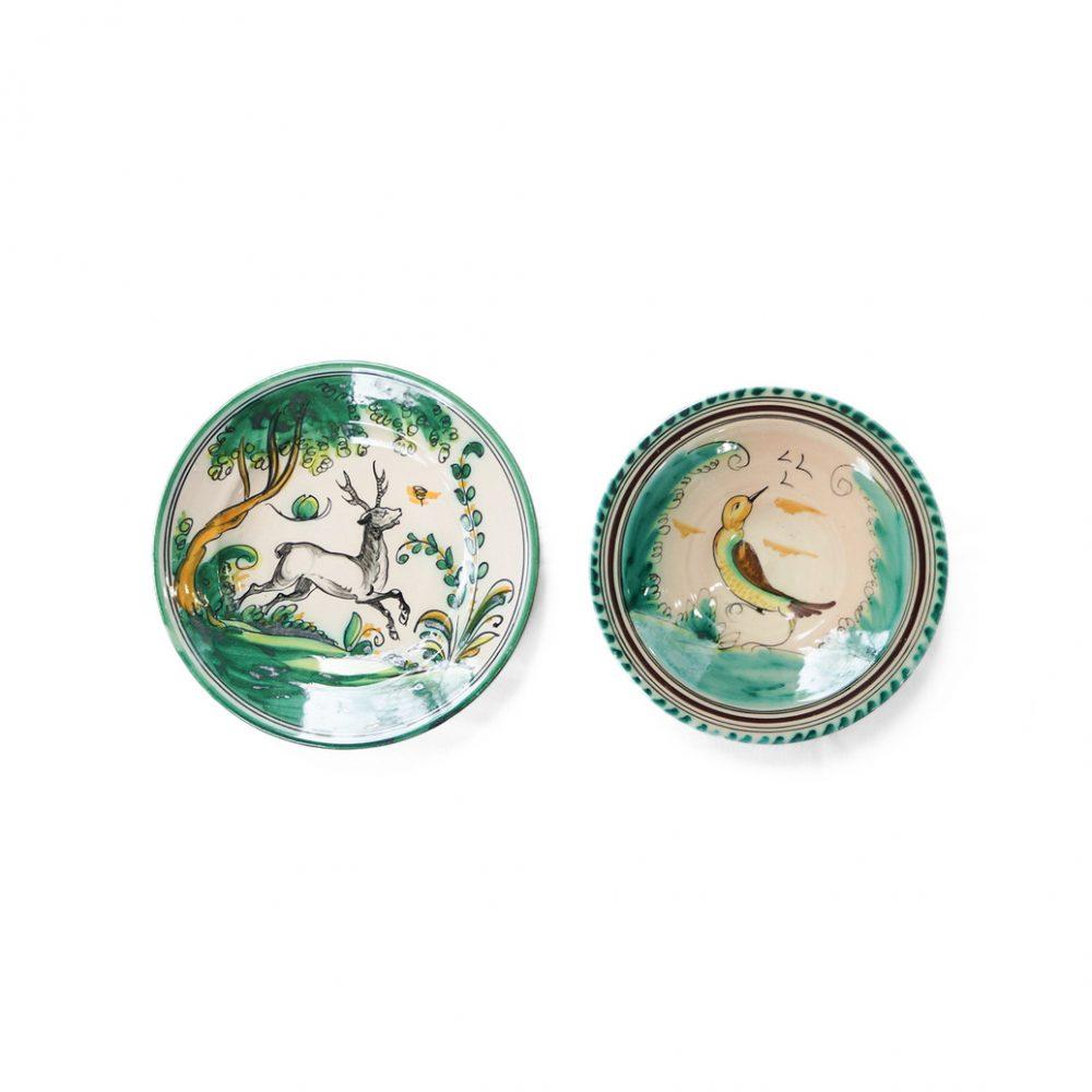 Spanish El Puente Del Arzobispo Pottery Wall Plate/スペイン ウォールプレート ハンドペイント 陶器 絵皿 工芸品