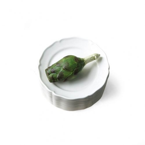 Este Ceramiche Trompe L'oeil Artichoke Pot Italy/エステ セラミック トロンプ・ルイユ アーティチョーク ポット 陶器 インテリア イタリア製