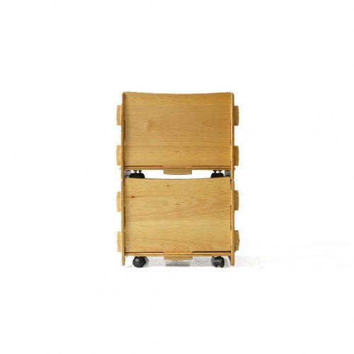 Legaré Modular Stacking Caster Box/レガーレ スタッキング キャスターボックスセット 組み立て式 収納