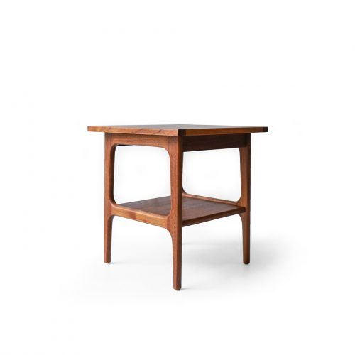 Danish Vintage Square Side Table Teakwood/デンマーク ヴィンテージ サイドテーブル チーク材 北欧家具 ミッドセンチュリー