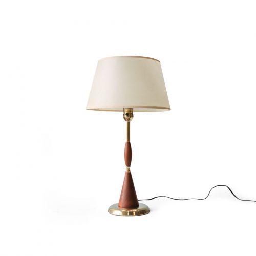 Midcentury Vintage Table Lamp Walnut Brass/ミッドセンチュリー ヴィンテージ テーブルランプ ウォルナット 真鍮 照明 インテリア