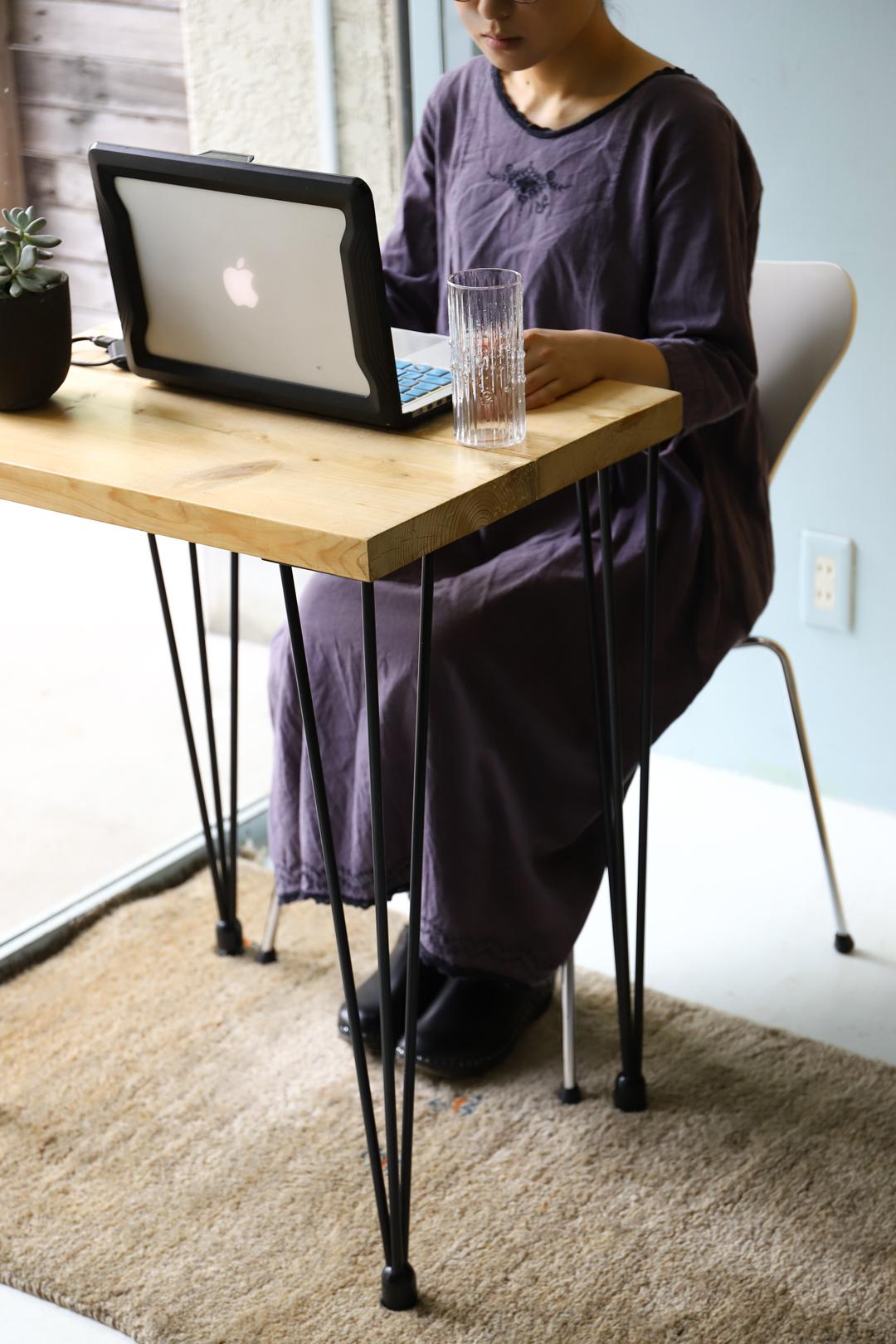 Reclaimed Wood Remake Table Desk/リメイク テーブル 古材 デスク アイアン シンプル インダストリアル