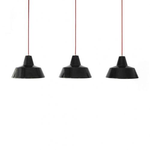 HERMOSA Enamel Pendant Light/ハモサ ホーロー ペンダントライト 照明 インダストリアル デザイン ブラック