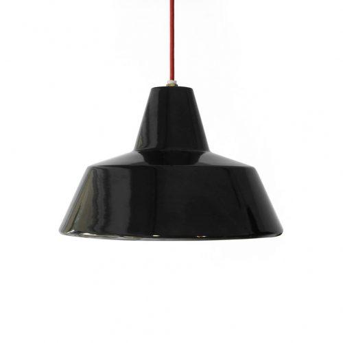 HERMOSA Enamel Pendant Light/ハモサ ホーロー ペンダントライト 照明 インダストリアル デザイン ブラック 1