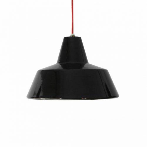 HERMOSA Enamel Pendant Light/ハモサ ホーロー ペンダントライト 照明 インダストリアル デザイン ブラック 2