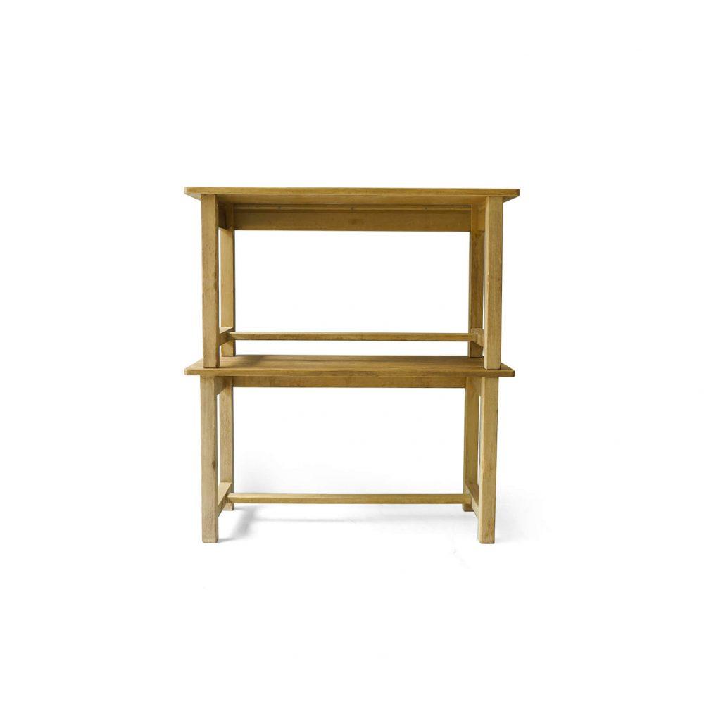 Japanese Vintage Long Work Table/ヴィンテージ 長机 テーブル デスク レトロ シャビー ナチュラル
