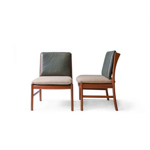 Japanese Vintage HITA CRAFTS Dining Chair Armless/日田工芸 ダイニングチェア アームレス ジャパンヴィンテージ チーク材