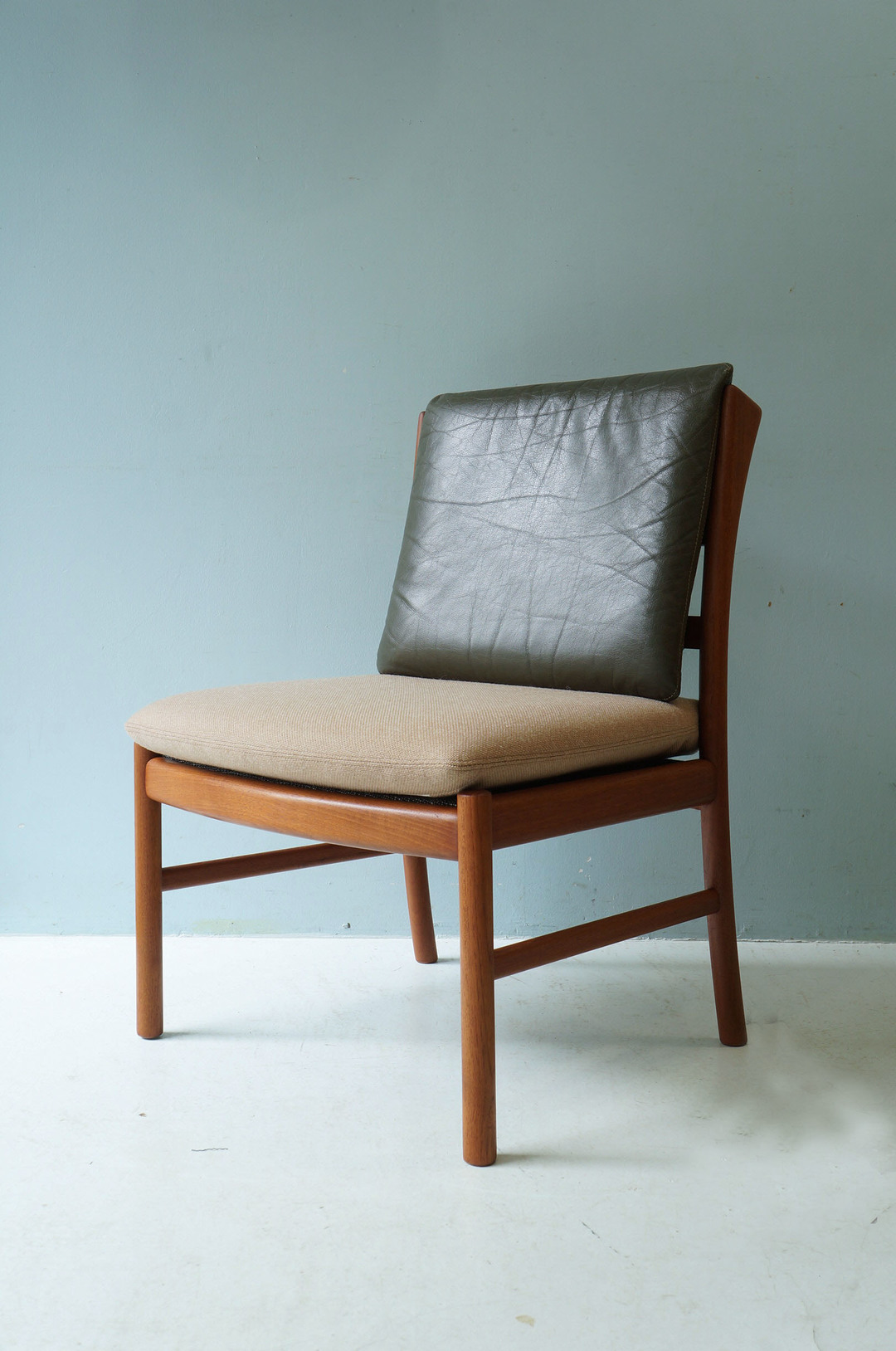 Japanese Vintage HITA CRAFTS Dining Chair Armless/日田工芸 ダイニングチェア アームレス ジャパンヴィンテージ チーク材 2