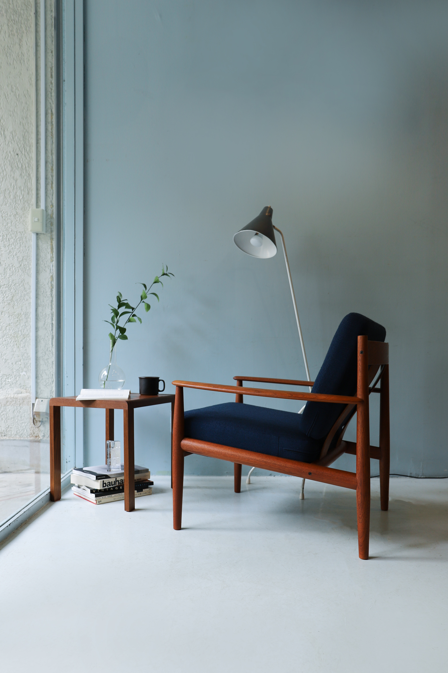 France & Søn Easy Chair Grete Jalk model 118/フランス&サン イージーチェア グレーテ・ヤルク デンマーク 北欧ヴィンテージ 1Pソファ