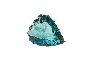 "Kosta Glass Sculpture ""Icebergs"" Vicke Lindstrand/コスタ アイスバーク ガラス彫刻 ヴィッケ・リンドストランド スウェーデン 北欧雑貨 インテリア"