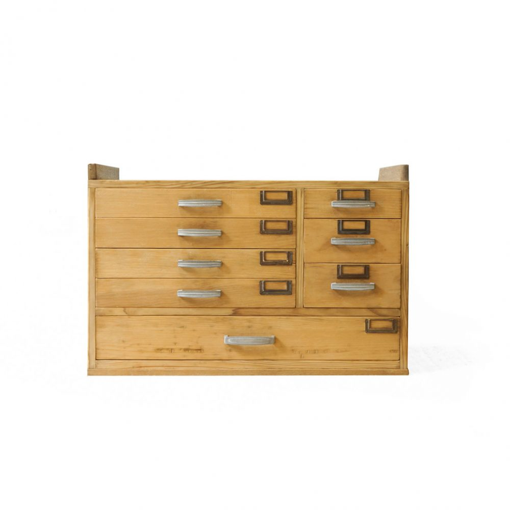 Japanese Vintage Small Drawer Chest/ジャパン ヴィンテージ 小引き出し 収納家具 昭和レトロ 和モダン