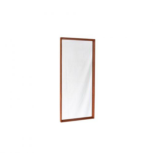 Danish Vintage Wall Mirror Teakwood Frame/デンマーク ヴィンテージ ウォールミラー チーク材 壁掛け 鏡 北欧インテリア