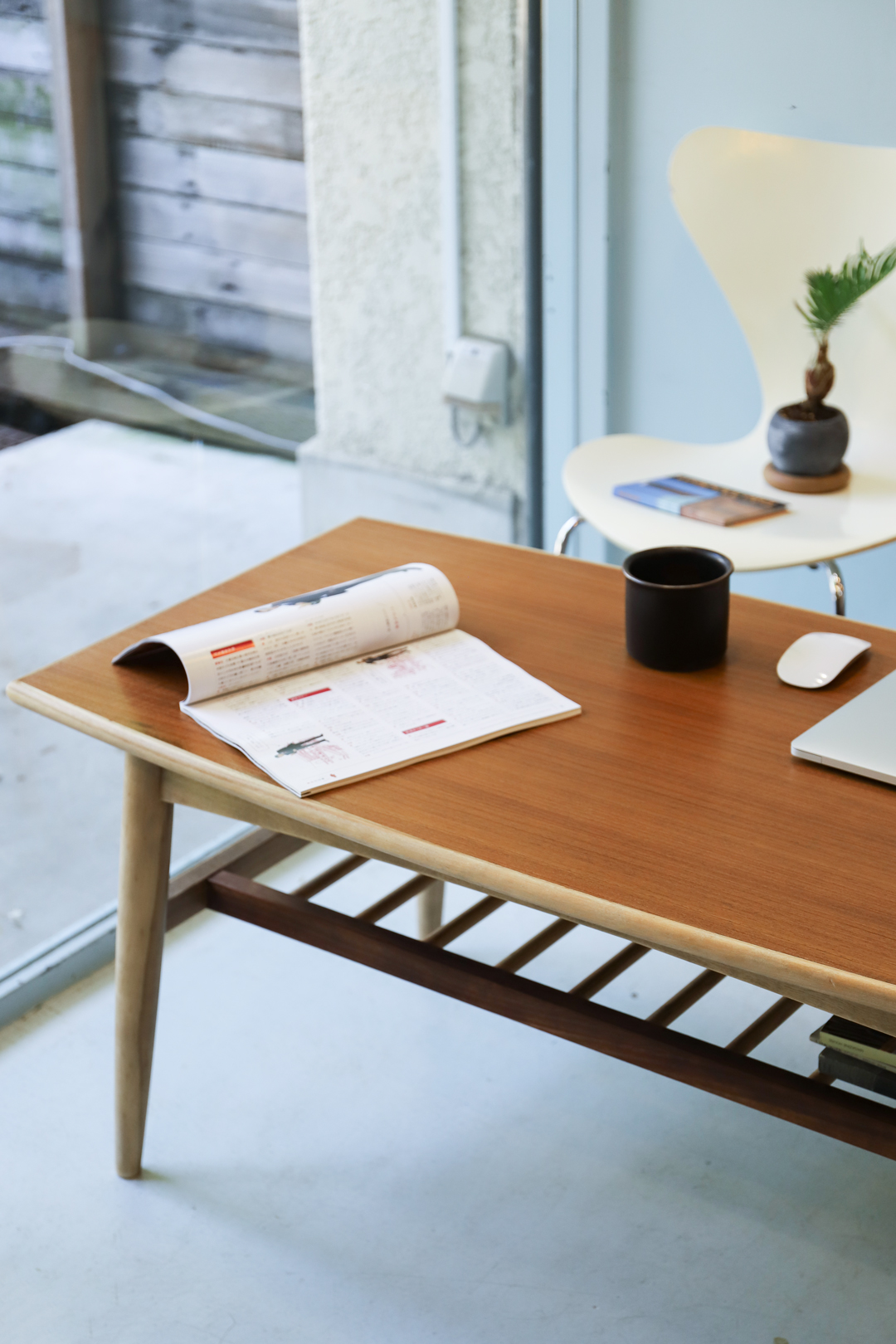 Midcentury Vintage Coffee Table/ヴィンテージ コーヒーテーブル センターテーブル チーク材 レトロ ミッドセンチュリー 北欧デザイン