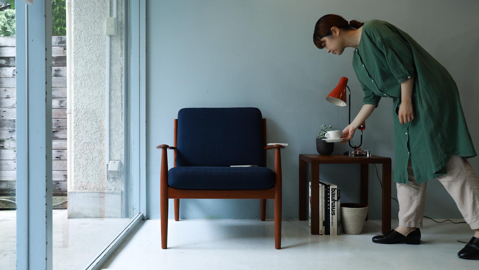 France & Søn Easy Chair Grete Jalk model 118