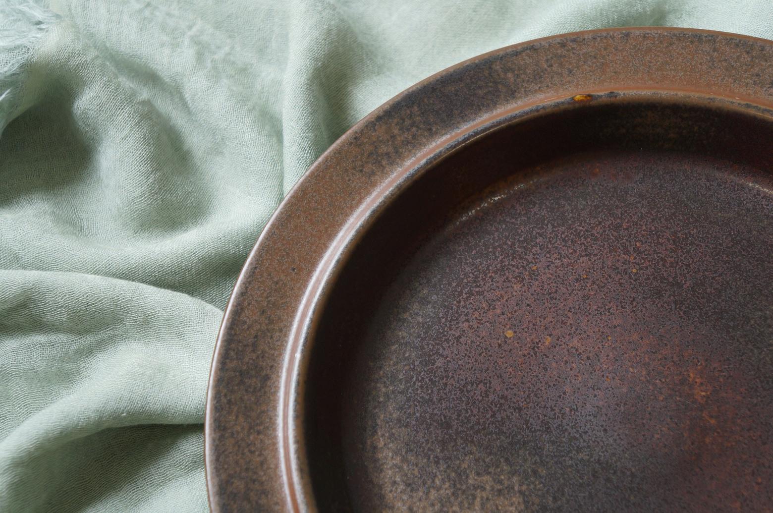ARABIA Ruska Dinner Plate 25.5cm Ulla Procope/アラビア ルスカ ディナープレート ウラ・プロコッペ フィンランド ヴィンテージ 北欧食器 2