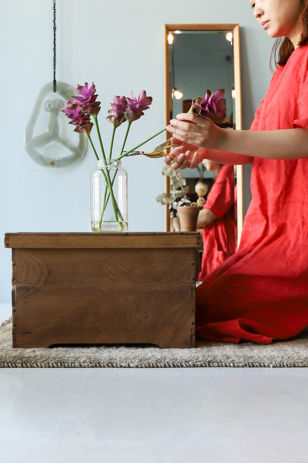 Japanese Antique Box Table/箱膳 お膳 テーブル ちゃぶ台 収納 アンティーク 古道具 和家具