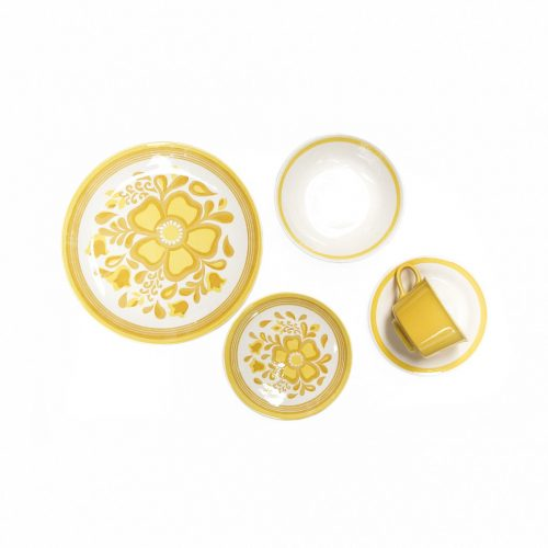 US Vintage Royal China Damsel Tableware/アメリカ ヴィンテージ ロイヤルチャイナ ダムセル カップ&ソーサー プレート ボウル 食器 レトロ