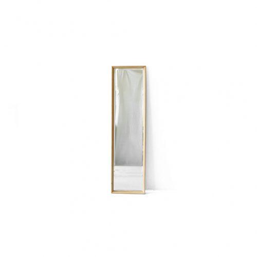 Oakwood Wall Mirror/ウォールミラー 壁掛け 鏡 姿見 オーク材 ナチュラル シンプル インテリア