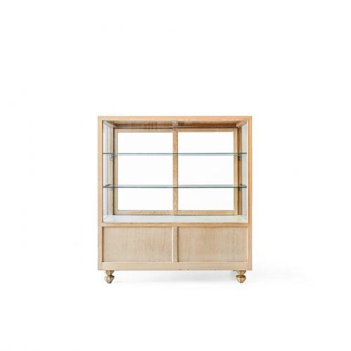 Japanese Vintage Modern Glass Showcase/ジャパンヴィンテージ ショーケース キャビネット レトロ ディスプレイ モダン