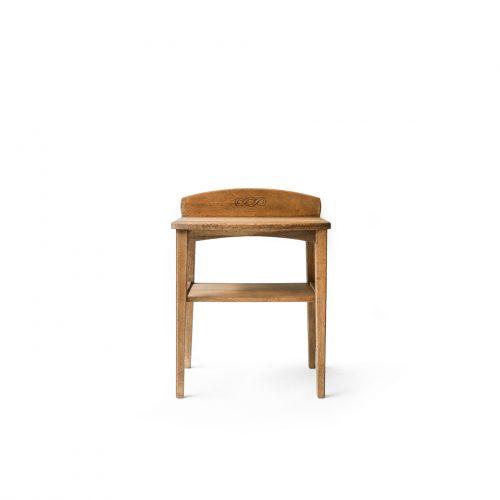 Antique Oakwood Console Side Table/アンティーク コンソール サイドテーブル 飾り台 オーク材