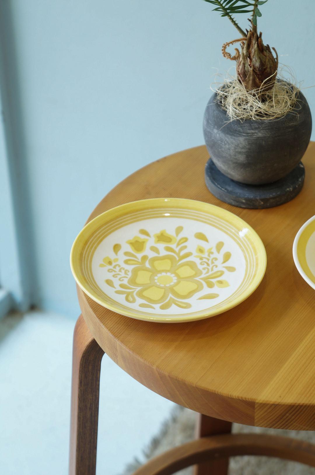 US Vintage Royal China Damsel Small Plate/アメリカ ヴィンテージ ロイヤルチャイナ ダムセル スモールプレート 食器 レトロ