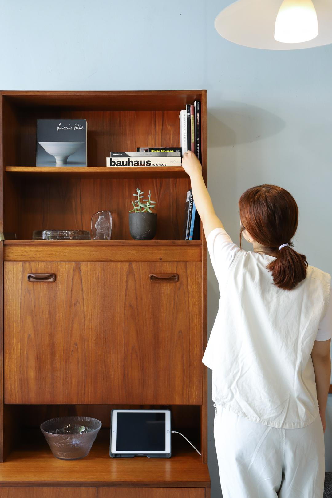 UK Vintage G-PLAN Fresco Writing Cabinet/イギリスヴィンテージ ジープラン フレスコ ライティングキャビネット ミッドセンチュリー モダン