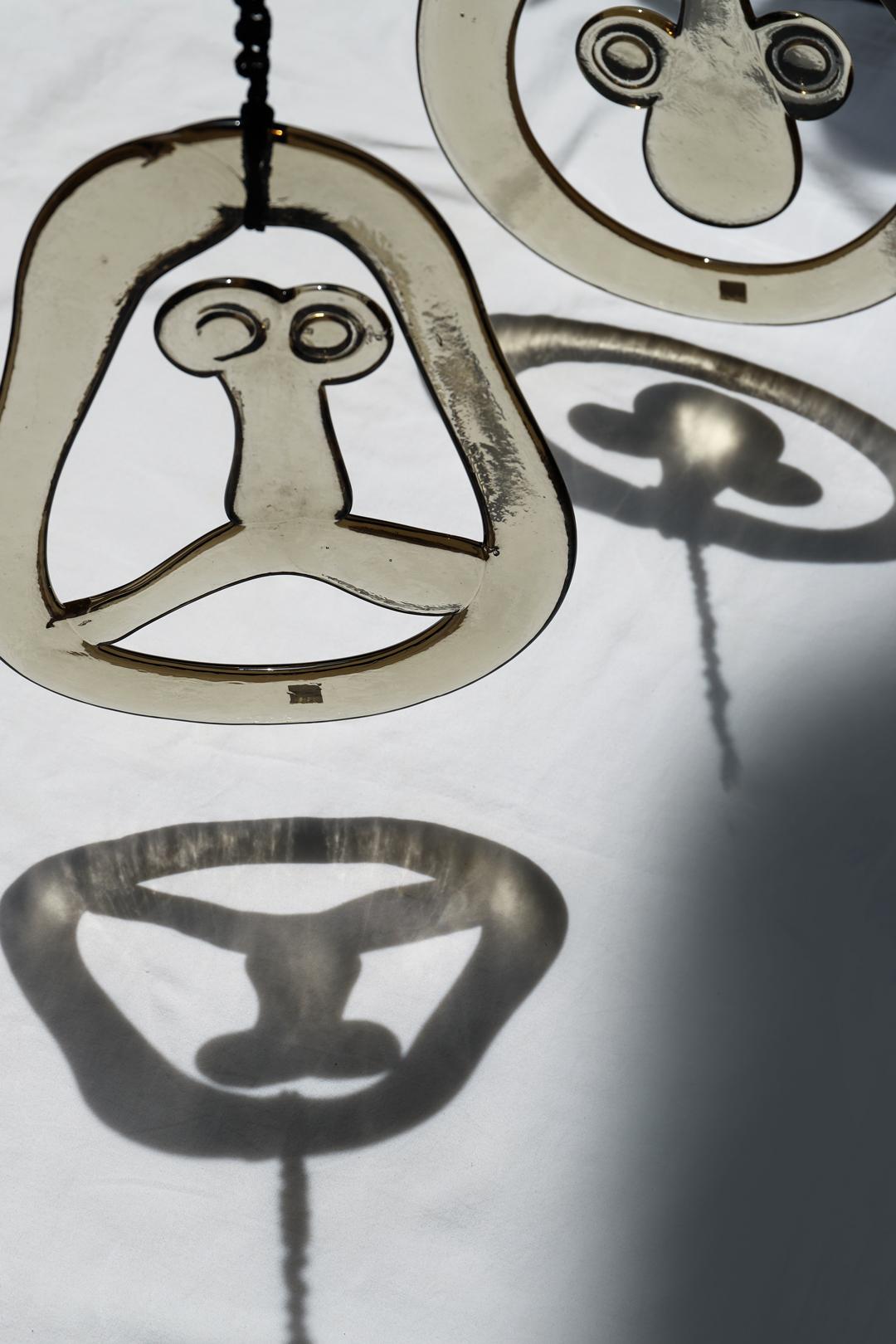 Kagami Crystal Glass Ornament/カガミクリスタル ガラス オーナメント 壁掛け インテリア レトロモダン
