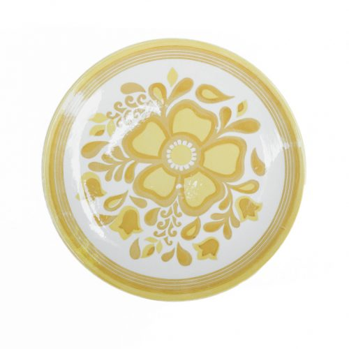 US Vintage Royal China Damsel Dinner Plate/アメリカ ヴィンテージ ロイヤルチャイナ ダムセル ディナープレート 食器 レトロ 4