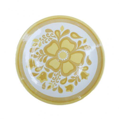 US Vintage Royal China Damsel Dinner Plate/アメリカ ヴィンテージ ロイヤルチャイナ ダムセル ディナープレート 食器 レトロ 5