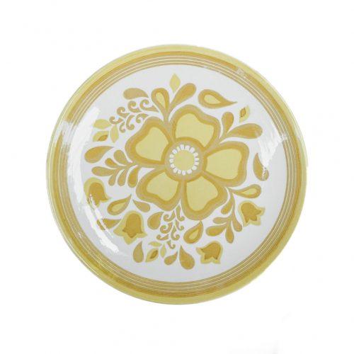 US Vintage Royal China Damsel Dinner Plate/アメリカ ヴィンテージ ロイヤルチャイナ ダムセル ディナープレート 食器 レトロ 7
