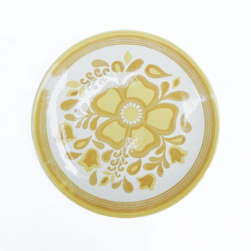 US Vintage Royal China Damsel Dinner Plate/アメリカ ヴィンテージ ロイヤルチャイナ ダムセル ディナープレート 食器 レトロ 8