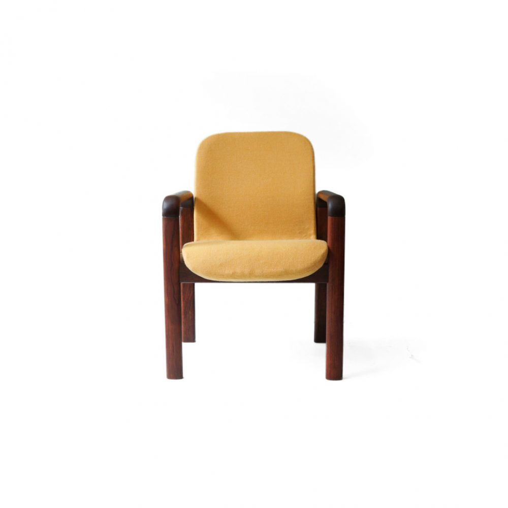 Danish Vintage Dyrlund Arm Chair/デンマーク ヴィンテージ デューロン アームチェア 北欧家具 イエロー