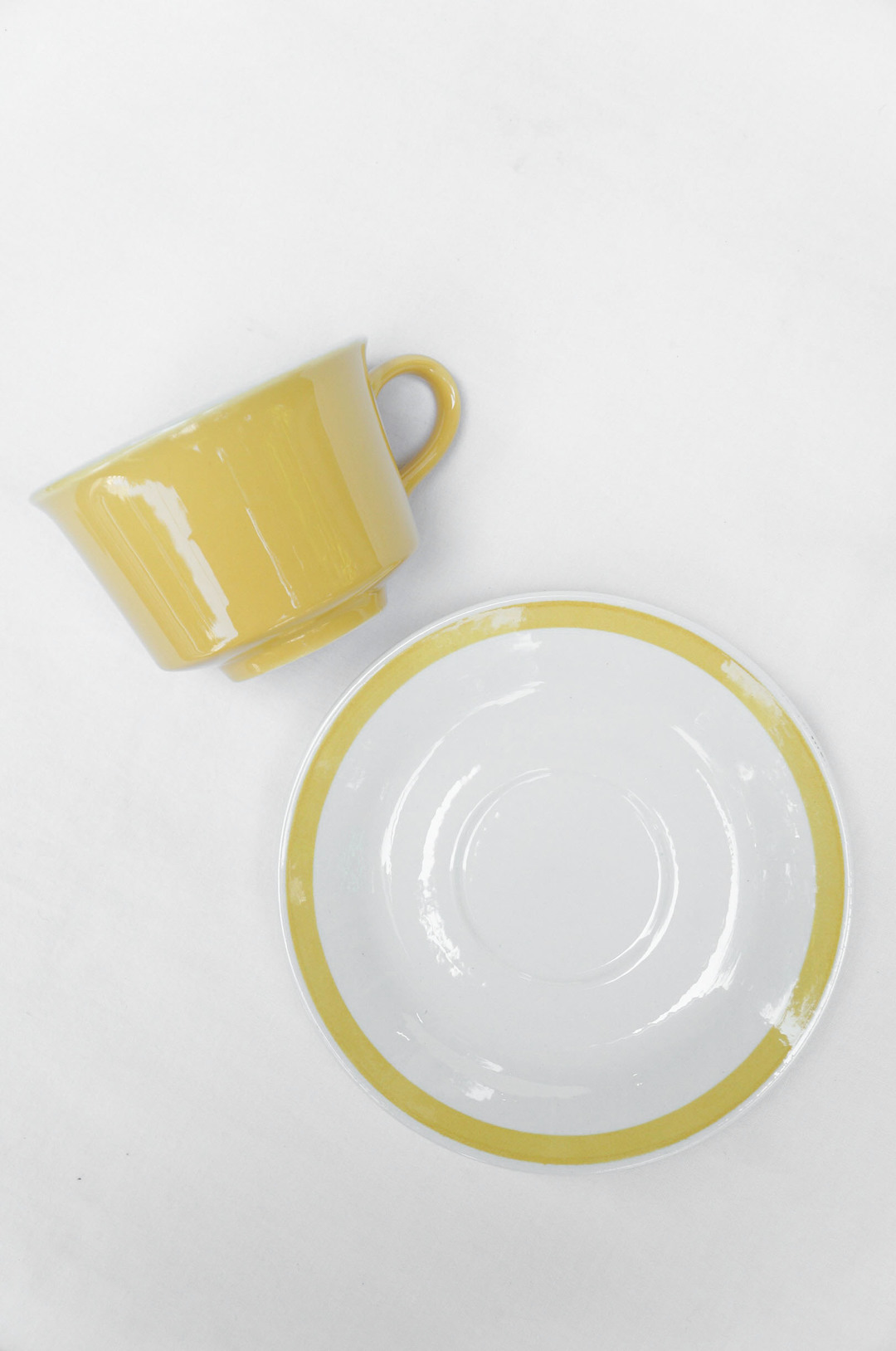 US Vintage Royal China Damsel Cup and Saucer/アメリカ ヴィンテージ ロイヤルチャイナ ダムセル カップ&ソーサー 食器 レトロ 3