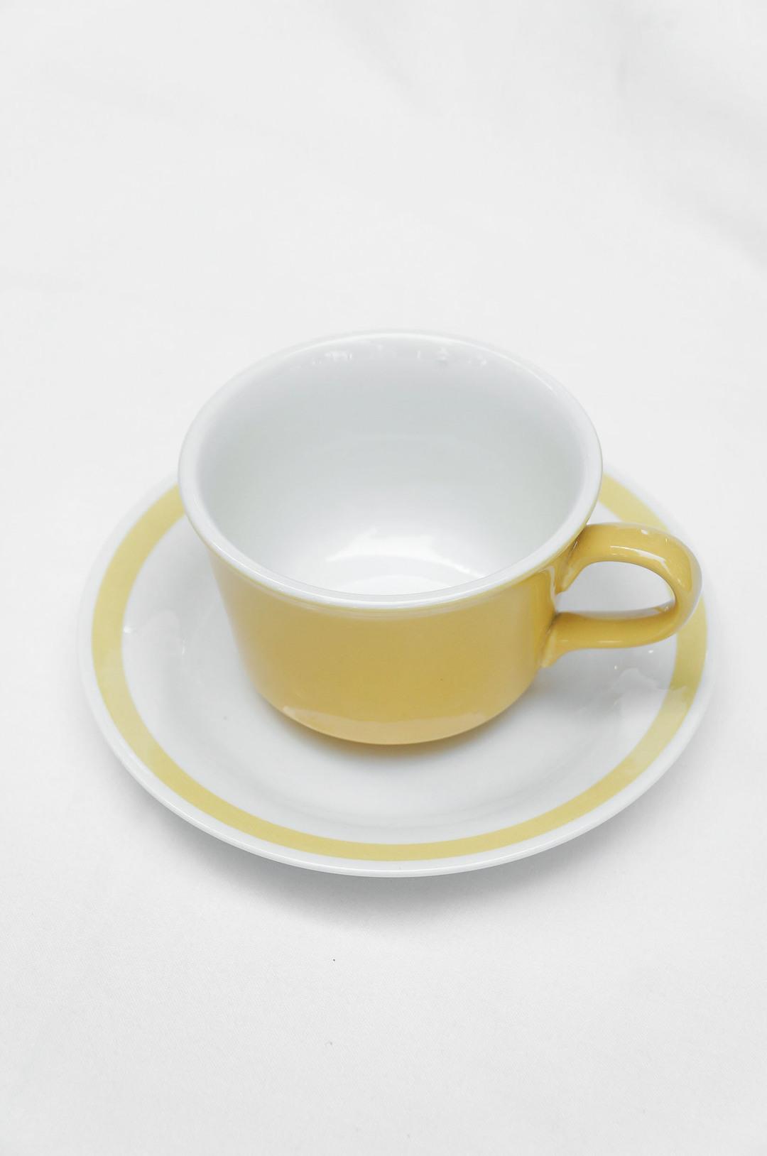 US Vintage Royal China Damsel Cup and Saucer/アメリカ ヴィンテージ ロイヤルチャイナ ダムセル カップ&ソーサー 食器 レトロ 5