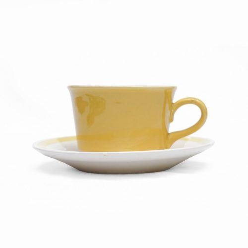 US Vintage Royal China Damsel Cup and Saucer/アメリカ ヴィンテージ ロイヤルチャイナ ダムセル カップ&ソーサー 食器 レトロ 6