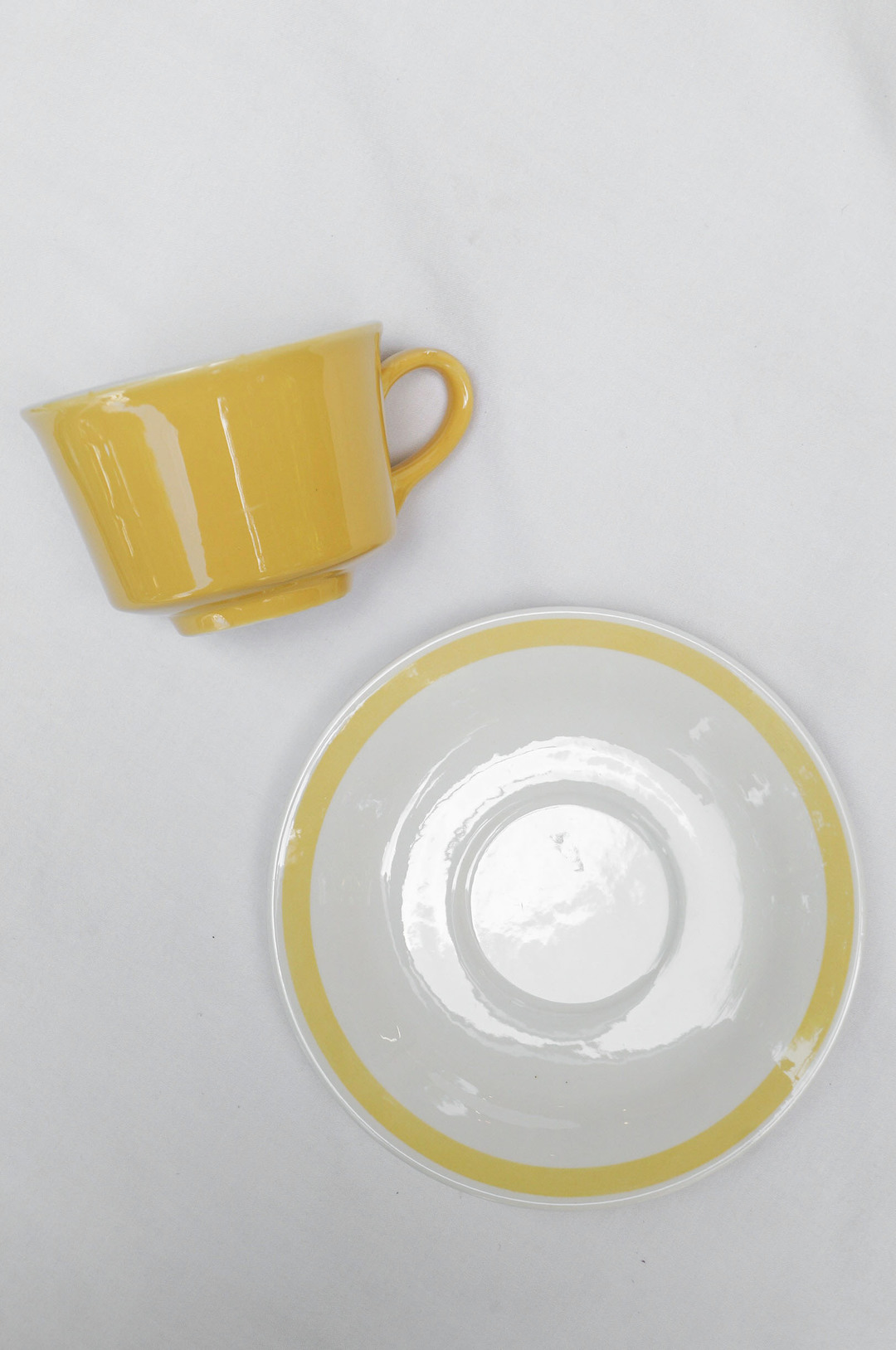 US Vintage Royal China Damsel Cup and Saucer/アメリカ ヴィンテージ ロイヤルチャイナ ダムセル カップ&ソーサー 食器 レトロ 6