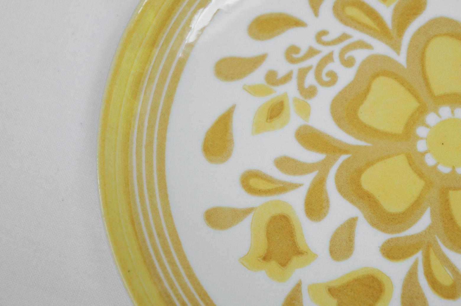 US Vintage Royal China Damsel Small Plate/アメリカ ヴィンテージ ロイヤルチャイナ ダムセル スモールプレート 食器 レトロ 5