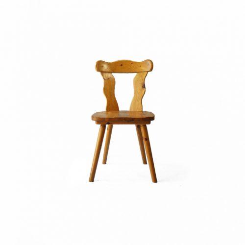 Pinewood Dining Chair Country Style/パイン材 ダイニングチェア カントリースタイル 椅子 ナチュラル