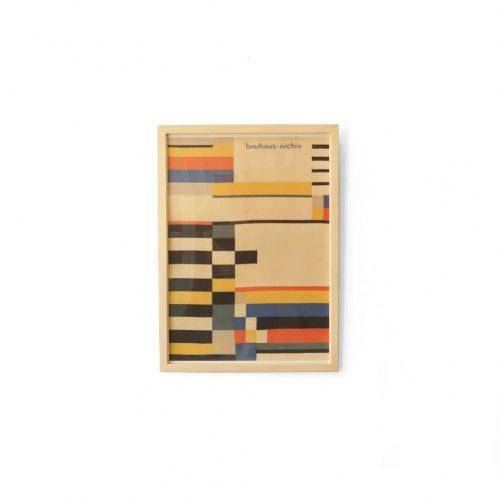 Bauhaus Poster Ruth Hollós-Consemüller/バウハウス ポスター テキスタイル 額 インテリア