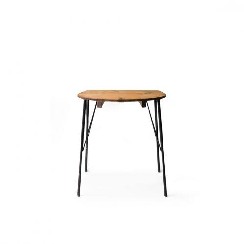 Japanese Vintage Cypress Bath Lid Iron Leg Table/ジャパンヴィンテージ 檜風呂蓋 アイアンレッグ テーブル 古道具 古材 デスク