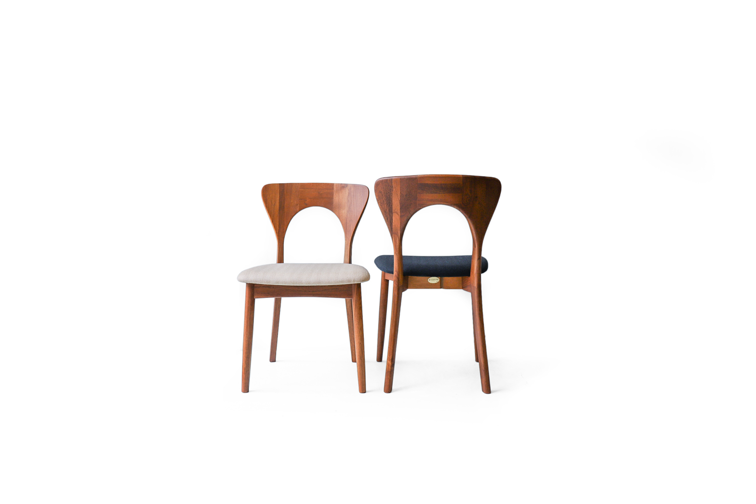 Danish Vintage Dining Chair Peter by Niels Koefoed for KOEFOEDS HORNSLET/デンマーク ヴィンテージ ダイニングチェア ピーター ニールス・コフォード 椅子 北欧家具 チーク材
