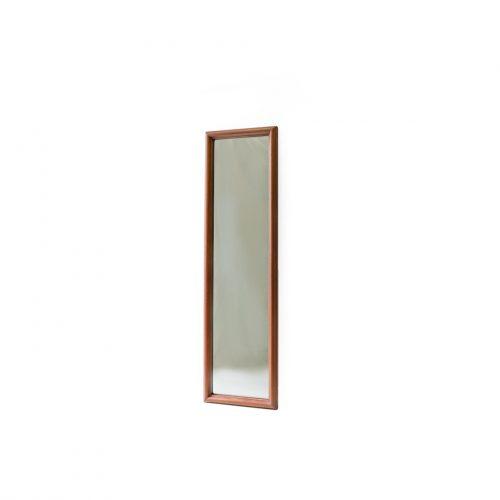 Danish Vintage Teakwood Full-length Mirror/デンマーク ヴィンテージ 姿見 ミラー 鏡 チーク材 インテリア 北欧モダン