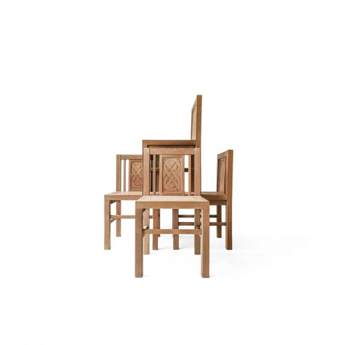 Arts&Crafts Style Antique Chair/アンティーク ダイニングチェア アーツ&クラフツ アール・デコ シンプルモダン