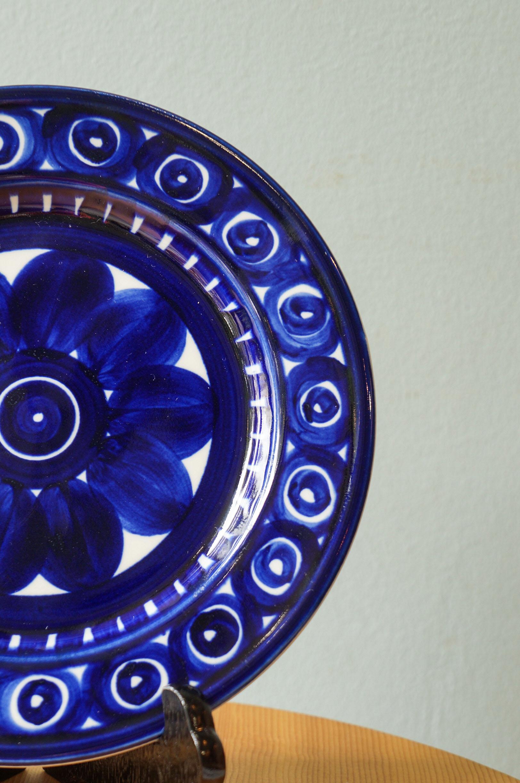 ARABIA Valencia Plate 19cm Ulla Procope/アラビア バレンシア プレート ウラ・プロコッペ 北欧食器 フィンランド ヴィンテージ 1