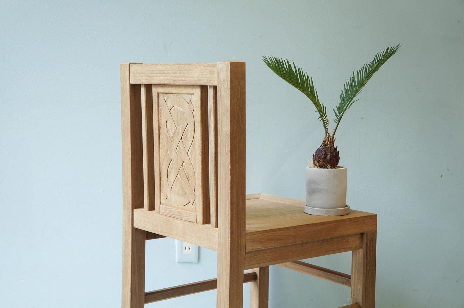 Arts&Crafts Style Antique Chair/アンティーク ダイニングチェア アーツ&クラフツ アール・デコ シンプルモダン 4