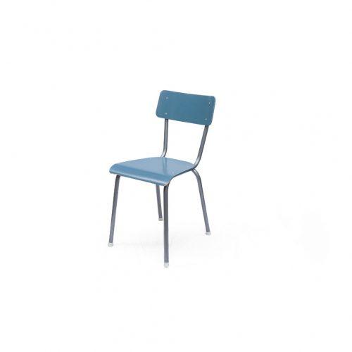 Dutch Vintage School Chair/オランダヴィンテージ スクールチェア ダイニングチェア スチール 椅子 インダストリアル シャビーシック