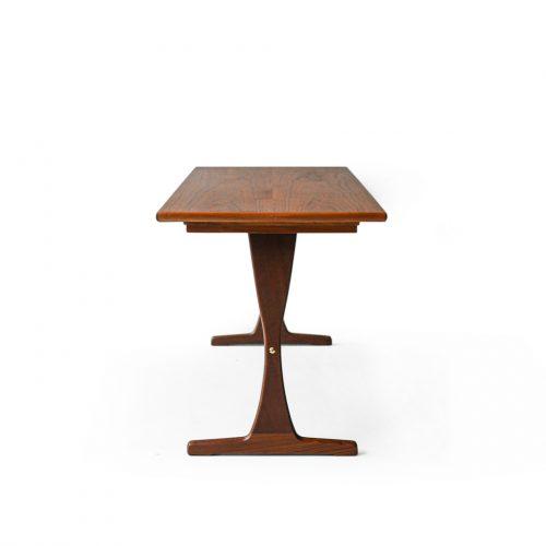 Scandinavian Vintage Trestle Side Table/北欧ヴィンテージ サイドテーブル コーヒーテーブル チーク材 ミッドセンチュリーモダン