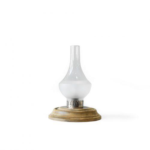 Antique Glass Shade Table Lamp/アンティーク テーブルランプ ガラスシェード 間接照明 シャビーシック ヴィンテージ